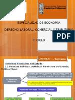 III Ciclo Economía _ Derecho Financiero