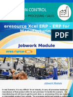 eresource Xcel ERP | ERP For Manufacuring Business | Jobwork Module