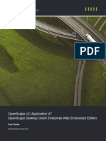 OpenScape UC Application V7 OpenScape Desktop Client Enterprise Web Embedded Edition User Guide Issue 4