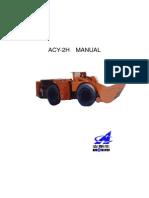 Acy 2h维修使用说明书英文版(32336)