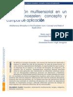 Estimulación Multisensorial en Un Espacio Snoezeen