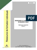 RENSEIGNER LE COMPTE-RENDU DE MANIERE FIABLE