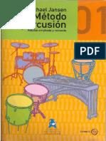 Método de Percusión 1 (Michael Jansen) Ed.RIVERA.pdf