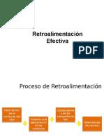 Proceso de Retroalimentación