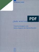 Mareike Rake Juda wird aufsteigen! Untersuchungen zum ersten Kapitel des Richterbuches 2006.pdf