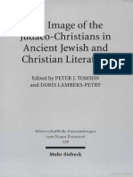 Peter J. Tomson, Doris Lambers-Petry Image of the Judaeo-Christians in Ancient Jewish & Christian Literature Wissenschaftliche Untersuchungen Zum Neuen Testament, 158 2003.pdf