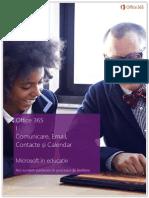 Manual Office 365 - Comunicare, E-mail, Contacte, Calendar
