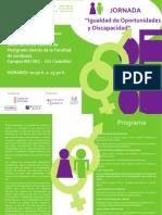CERMICV Jornada Igualdad de des 29 de Marzo 2010