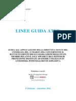 ATEX -Linee Guida