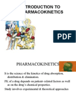 Introduction to Pharmacokinetics
