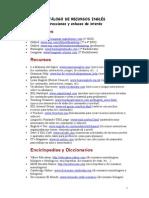 Catalogo Recursos en Ingles