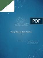 Scuba Diving Website White Paper