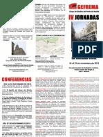 IV Jornadas sobre la Guerra Civil Española (GEFREMA)