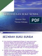 Kebudayaan Suku Sunda (Ppn-power Point)