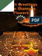 Diwali Greetings From Shamuns Flowers