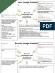 formal image analysis template