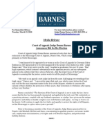Barnes Press Release 3-23-10