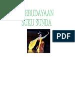 Makalah Kebudayaan Suku Sunda