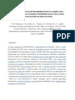Estudo Comparativo de Recobrimentos DeTiO2 Sobre o Aço Inoxi