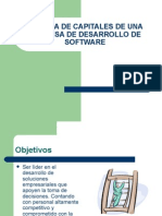 SISTEMA DE CAPITALES DE UNA EMPRESA DE DESARROLLO