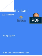 Dhirubhai Ambani Final