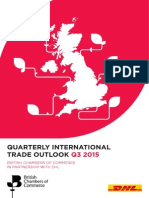 Quarterly International Trade Outlook (QITO) for Q3 2015