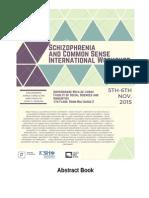 schizophrenia and common sense abstract book