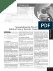 Politica Fiscal y Derecho Financiero.- Parte 1