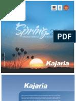 Kajaria Ceramic Wall & Floor Tiles, Feb 2013 (South)