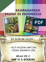 Fauna  di indonesia