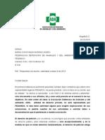 Respuesta a Derecho de Petición Constanza Moreno