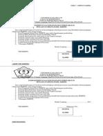 Lembar Pernyataan Kelengkapan Persyaratan Sidang Hasil