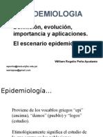 Clase 01 Epidemiologia