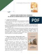 Arquidiócesis Bs as Año de La Misericordia