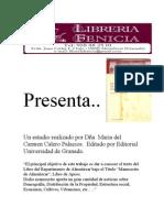 Novedad literaria Historia de Almuñecar