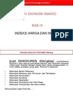 Pertemuan 13 Indeks Harga Dan Inflasi