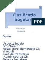 Clasificatia Bugetara_curs Extins APC