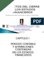 2 Aspectos Del Cierre de Los Estados Financieros -Recopilaciones y Analisis