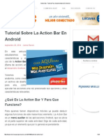 Action Bar_ Tutorial Para Implementarla en Android