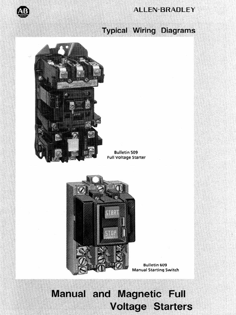 Typical Wiring Diagrams Allen Bradley