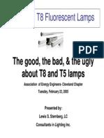 T5 Versus T8 Fluorescent Lamps