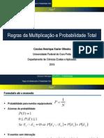 Aula 7 - Regras Da Multiplicação e Probabilidade Total