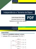 Aula 8 - Independência e Teorema de Bayes