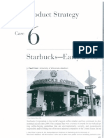 Starbucks Marketing Case
