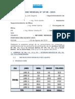 Informe Mensual Agosto 2015
