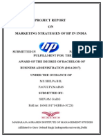 164298714-117477205-Minor-Project-Report-on-Hp