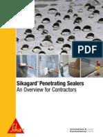 Sikagard Penetrating Sealers
