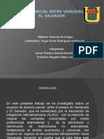 Diapositivas Acuerdo Parcial Venezuela y El Salvador
