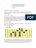 Melodic Fusion Guitar - Borrowing Chords From Parallel Modes