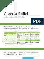 Alberta Ballet 2015